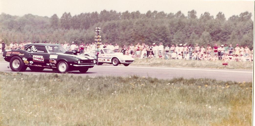 1982 Racing against Wille Hestermann