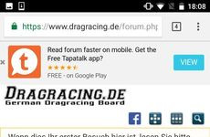 Dragracing.de bei Tapatalk